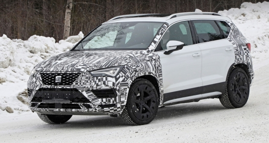 Seat Ateca is preparing for the next update
